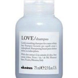 Davines Love Shampoo 2.5 oz 75 ml For Coarse Or Fr